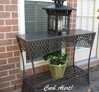 Metal Outdoor Table