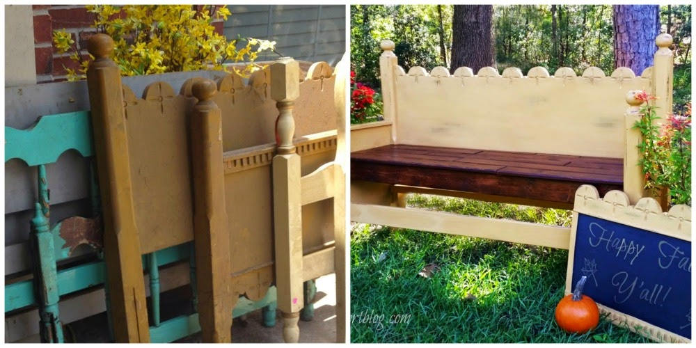 Fall Butterscotch Bench