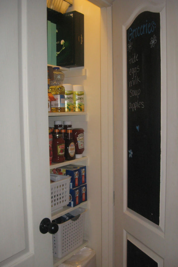 Pantry grocery list