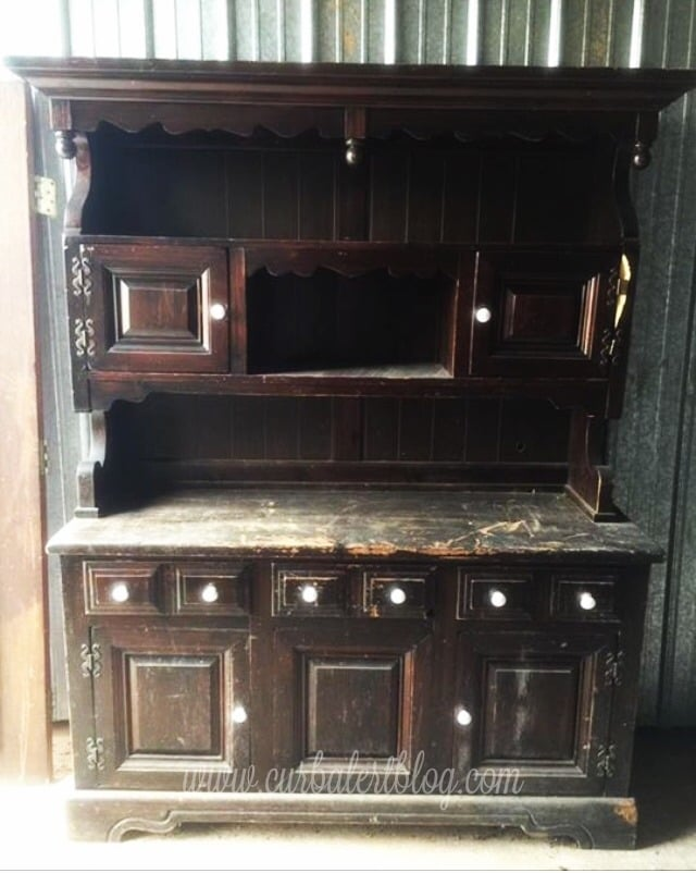 Another look at the original hutch - front view