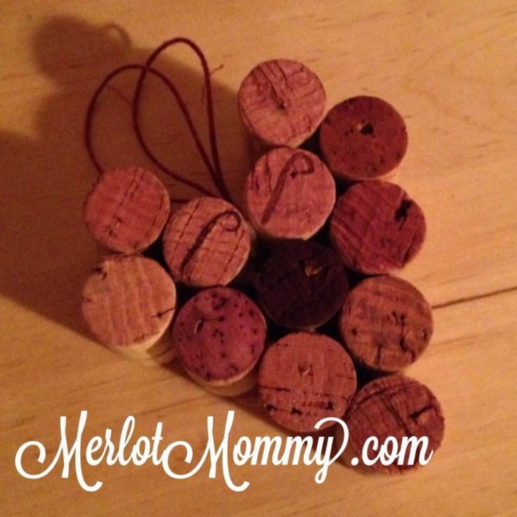 Valentine Wine Cork Heart Craft