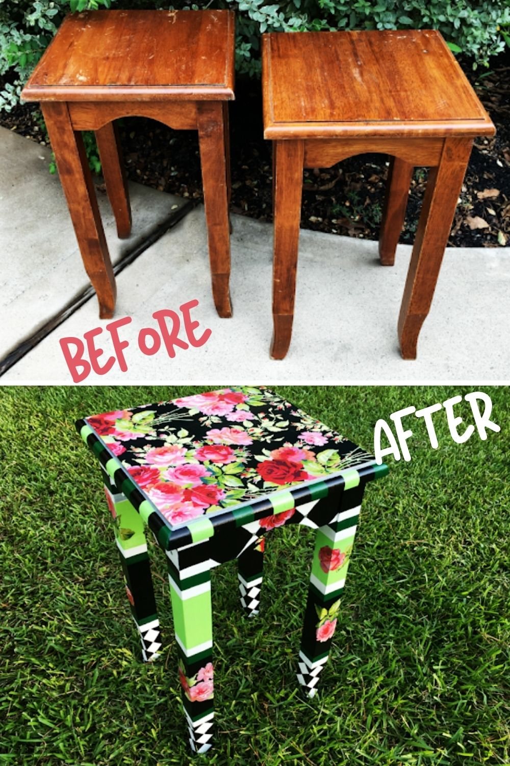 Accent table transformation