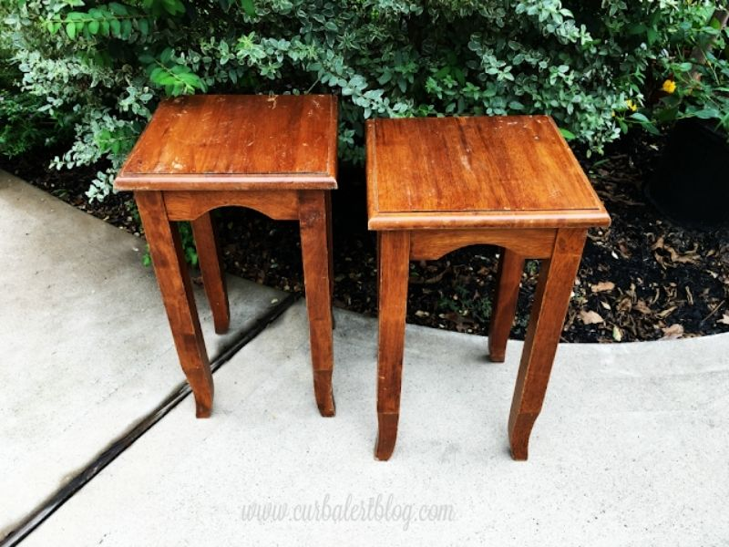 old accent tables